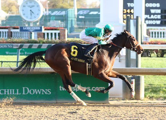Candy Ride Filly Makes the Grade at Churchill