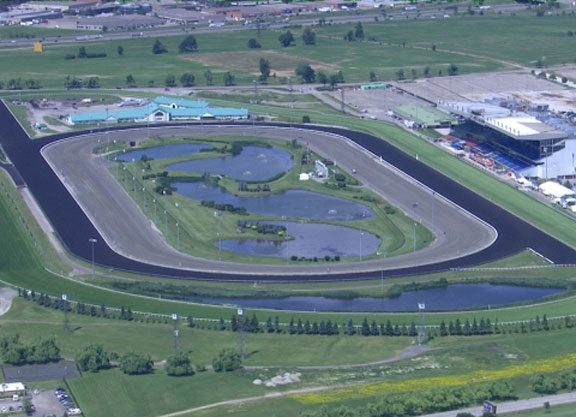 Woodbine to Experiment With Clockwise Grass Races